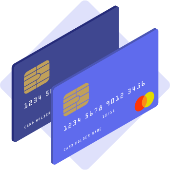 Card payment illutration